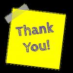 一日に「ありがとう」を何回言いますか?